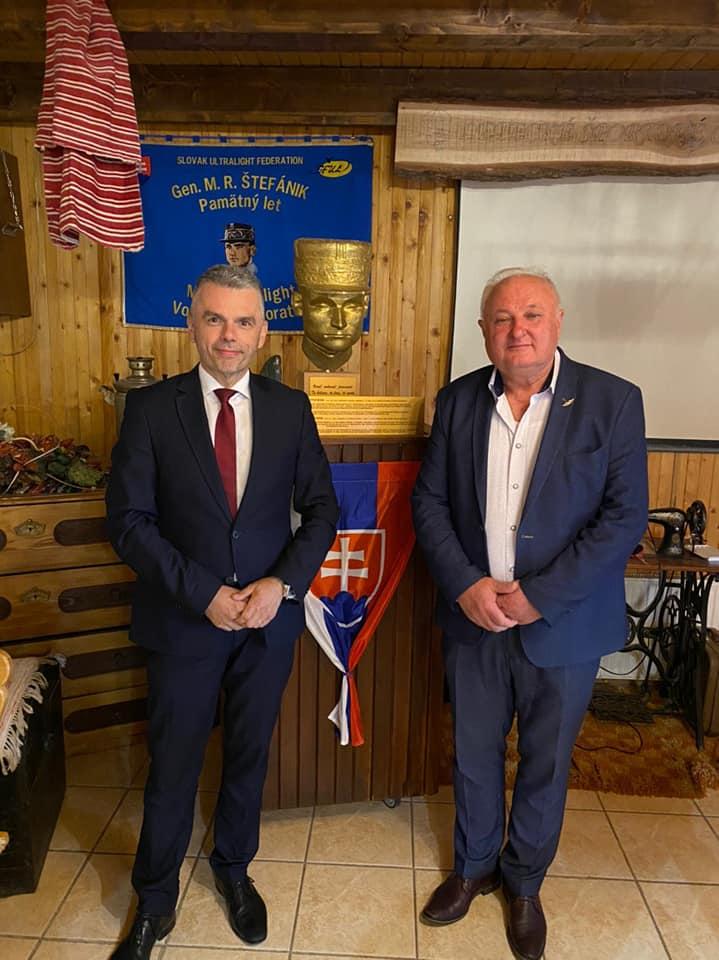 Privítali sme štátneho tajomníka ministerstva dopravy Jaroslava Kmeťa.